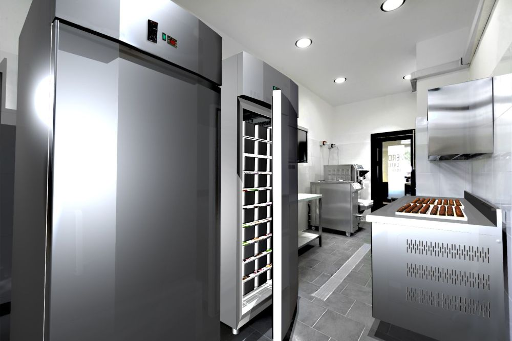 Ambientazione cucina arredamenti usati for Arredamento enoteca usato